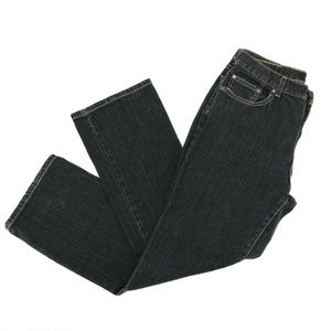 Calvin Klein Bootcut Jeans Sz 12 Stretch Dark Wash